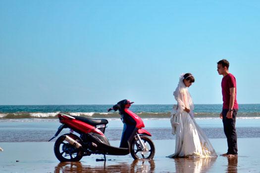 FTV Kontrak Cinta Syuting di Pangandaran