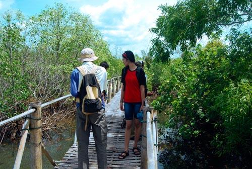 Geliat Wisata Edukasi Mangrove Bulaksetra