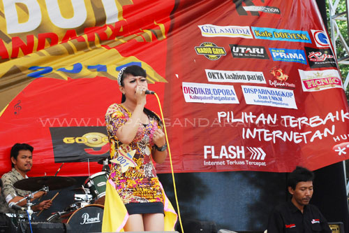 Grand Final Dangdut Pangandaran 2014