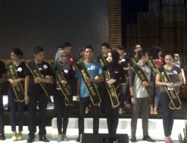Kabupaten Mengirimkan Duta di Ajang Mojang Jajaka Jawa Barat 2014