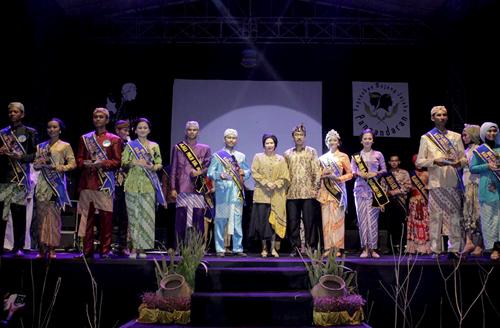 Pasanggiri Mojang Jajaka Pangandaran 2015 Sukses di Gelar