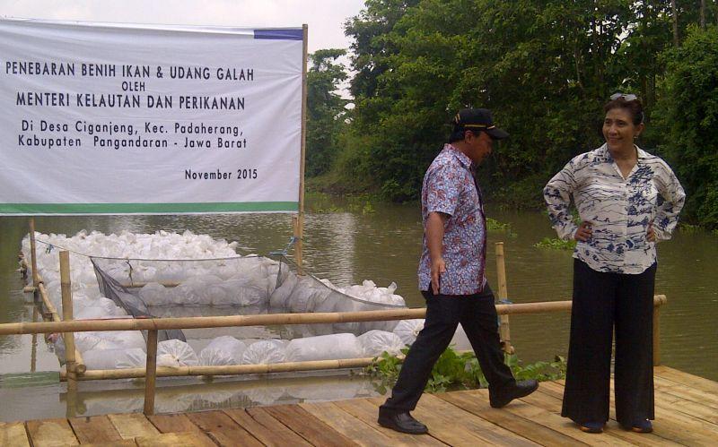Susi Pudjiastuti Minta Diundang Jika Pangandaran Panen Ikan