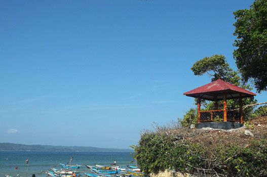 Taman Wisata Alam Pangandaran,Tampil Cantik Dengan Gazebo