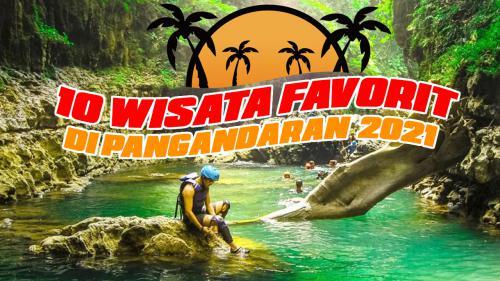 10  Wisata Favorite di Pangandaran 2021