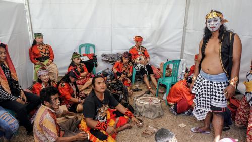 Ebeg Sabar, Lestarikan Budaya Pangandaran Lewat Kesenian Lokal