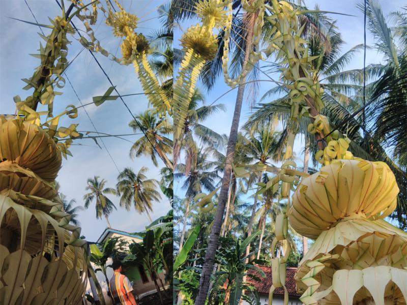 Umbul-umbul Janur yang Sudah Jarang Terlihat di Pangandaran