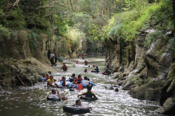 Serunya Wisata Rafting di Pangancraan Margacinta