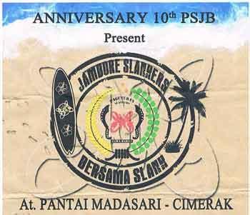 Happy Aniversary 10th PSJB Present JAMBORE SLANKERS Bersama SLANK