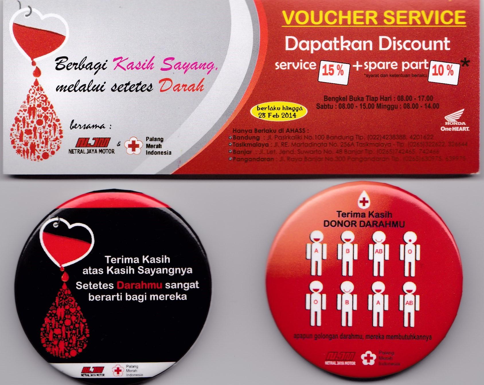 Netral Jaya Motor Pangandaran Akan Gelar Donor Darah