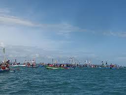 Hajat Laut, Prosesi Syukuran Nelayan