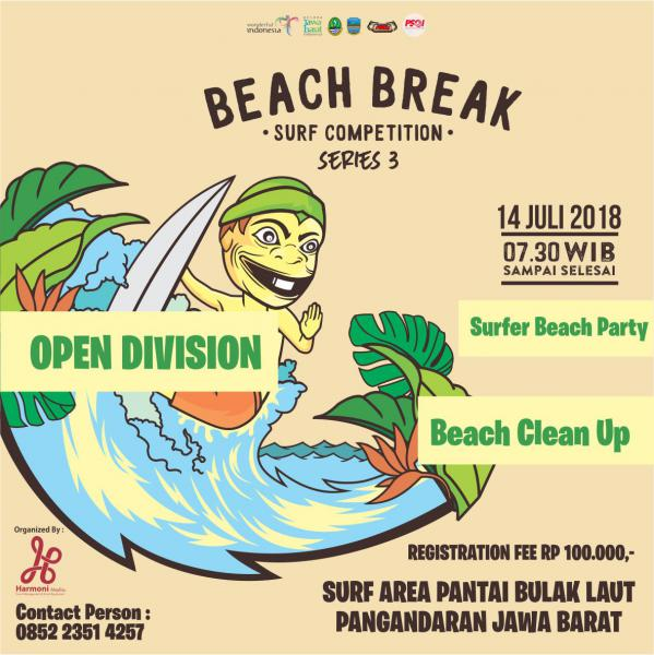 Pangandaran Beach Break  Surf Competition