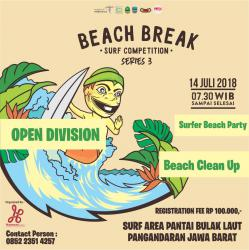 Pangandaran Beach Break  Surf Competition