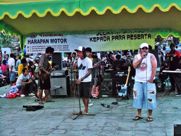 Parade Band Ngabuburit Bareng Anak Pangandaran