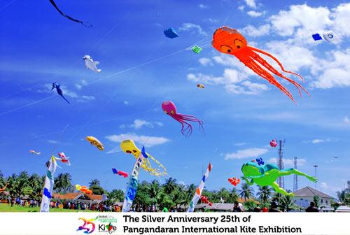 The Silver Anniversary of 25th Pangandaran International Kite Exhibition