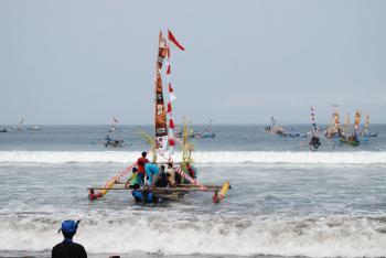 Hajat Laut  Tradisi Masyarkat Basisir Pangandaran 2018