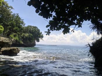 Intip Panorma Private Beach Pantai Batukaras Pangandaran