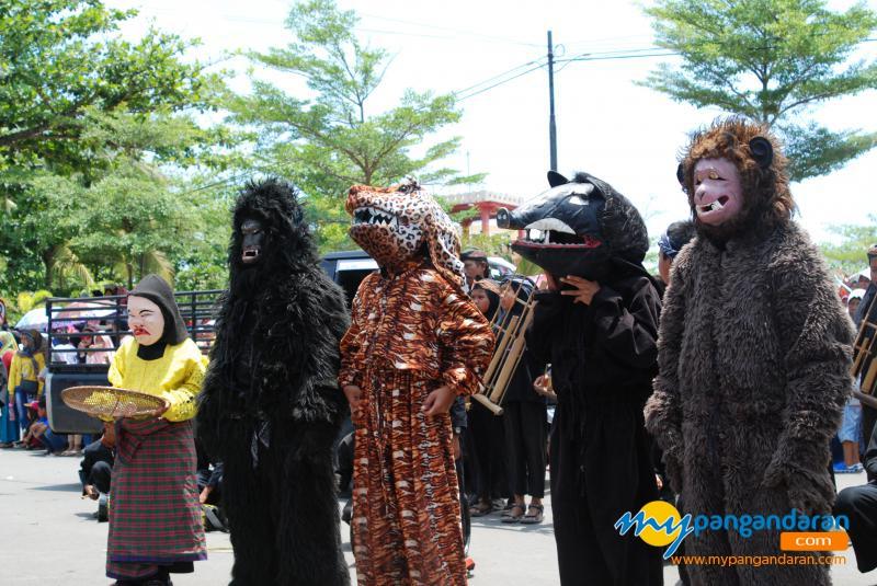 Karnaval Budaya Dalam Rangka MIlangkala ke-6 Kabupaten Pangandaran