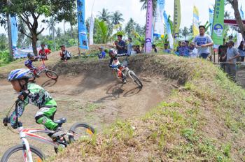 Kejuaraan Super Cross Champion BMX Ship 2018, digelar di Pangandaran