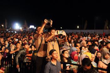 Konser Armada dan Bella Nova di Pangandaran