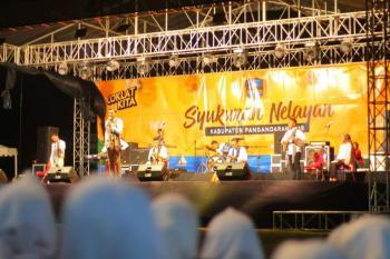 Konser Musik Religi Syukuran Nelayan Pangandaran 2018