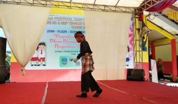 Lomba Kreatifitas Pantomim Tingkat Kabupaten Pangandaran