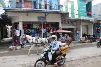Potret Jalan Sumardi Pangandaran