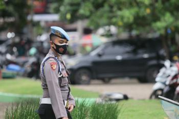 Potret Ratusan TNI dan Polri Amankan Jalannya Rapat Pleno KPU Penetapan Bupati Pangandaran Terpilih