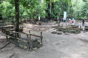 Potret Situs Batu Kalde Pangandaran