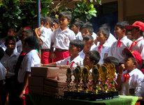 Meriahnya Acara Kenaikan Kelas Sekolah Dasar Di Babakan