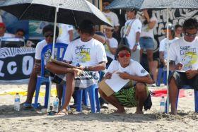 Volcom Gelar Surfing Contest di Pantai Bulak Laut Pangandaran