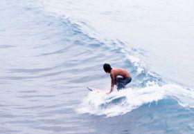Pantai Bulak Setra Pangandaran Sensasi Baru Para Surfer