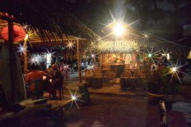 Suasana Malam di Mungil Steak House Pangandaran