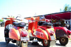 Pangandaran Lautan Scooter 2012