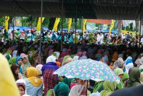 Foto Syukuran Kabupaten Pangandaran dan Gema Muharam 1434