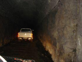 Terowongan Wilhelmina - Menelusuri Jalur Kereta Banjar - Pangandaran - Cijulang Yang Telah Mati