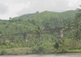 Salah Satu Jembatan di Putrapinggan - Menelusuri Jalur Kereta Banjar - Pangandaran - Cijulang Yang Telah Mati