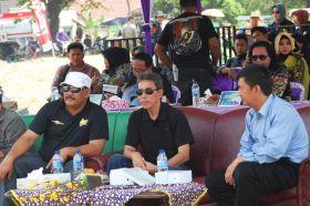 Bapak Bupati Pangandaran Endjang Nafandi, Menghadiri Acara GF Dangdut Pangandaran 2014