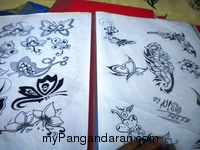 Temporary Tatto Pangandaran