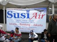 Susi Air Ikut Ramaikan Acara Bandung Air Show