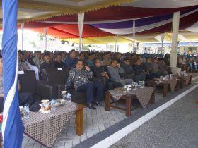 Serah Terima Jabatan dan Pisah Sambut Penjabat Bupati Pangandaran