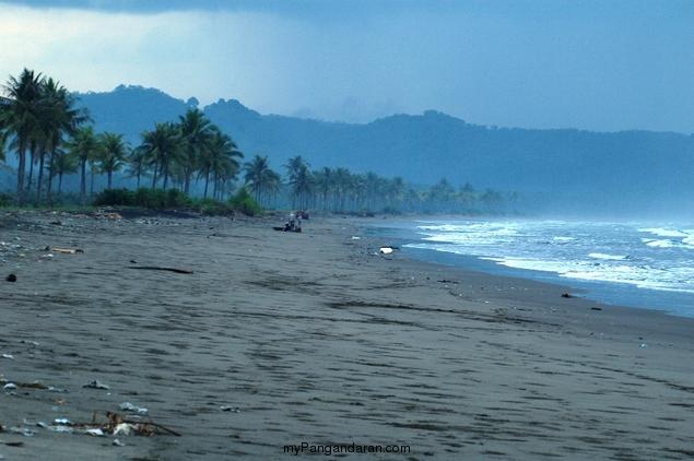Pesona Pantai Bulak Setra Pangandaran