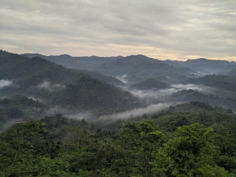 Keindahan Panorama 360 Bukit Panenjoan Sidamulih Pangandaran