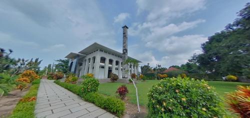 Potret Panorama 360 Mesjid Agung Al Istiqomah Pangandaran