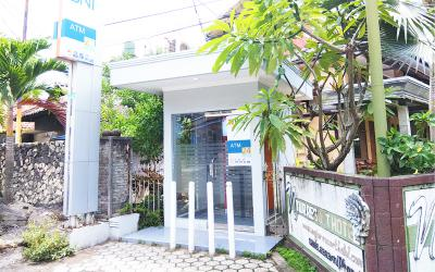 ATM BNI depan Nyiur Indah Resort