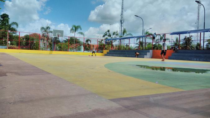 Lapang Basket Pangandaran Creative Space