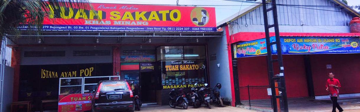 Rumah Makan Tuah Sakato Khas Minang