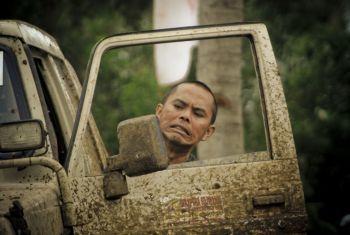 Ekspresi Peserta West Java Adventure Off-road XIV Tahun 2013 Banjar-Pangandaran