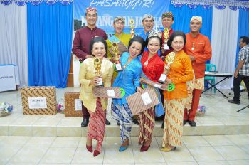 Ekspresi Ceria Mojang Jajaka dan Pangandaran 2013