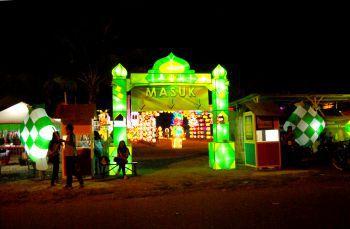 Festival of Light Pangandaran 2015