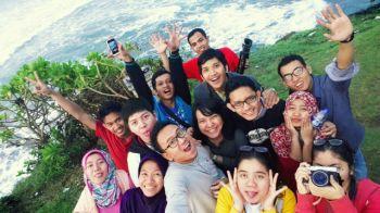 Selfie di Bukit Batu Hiu
